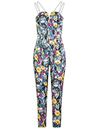 f1db3ac362fa Girls On Film Womens Ladies Florence Floral Sweetheart Jumpsuit