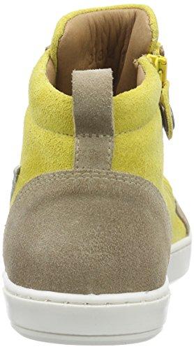 Bisgaard Shoe with laces, Baskets hautes mixte enfant Jaune - Gelb (152 Buttercup)