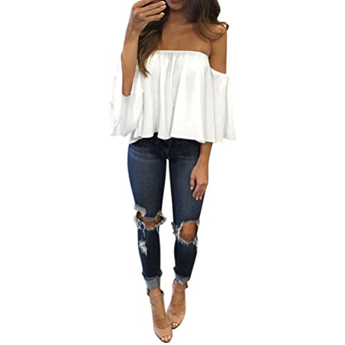internet-women-summer-chiffon-t-shirt-tops-off-shoulder-casual-blouse-m-white