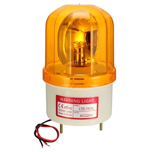 Sourcing map Bombilla luz advertencia tipo LED intermitente