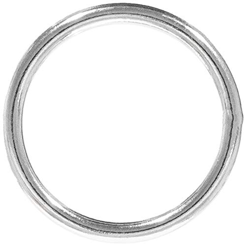 PARACORD PLANET Welded Steel O-Ring - 3/4 inch, 1 inch, 1 ¼ inch, 1 ½ inch, 2 inch - Multiple Pack Sizing - Webbing, Strapping, Binding O-ring Stl