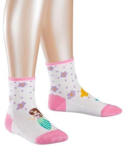 FALKE Mädchen Socken Hula Girl Mehrfarbig (White 2000), 23-26