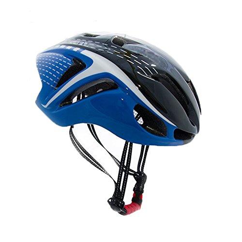Romsion Fahrradhelm Eextreme Sport, Atmungsaktiv, für Mountainbike, Fahrradhelm, dunkelblau, Free Size