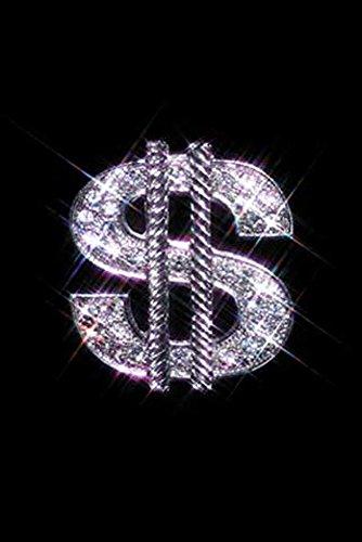 Bling - Dollar Bling Style - Poster Schmuck Diamant Dollar-Zeichen - Grösse 61x91,5 cm + 1 Ü-Poster der Grösse 61x91,5cm