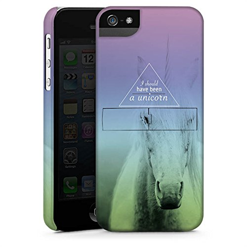 Apple iPhone X Silikon Hülle Case Schutzhülle Einhorn Sprüche Unicorn Premium Case StandUp