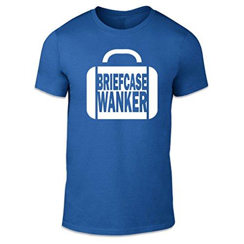 WTF Herren T-Shirt Blau