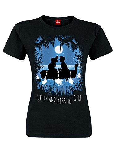ariel-la-sirenita-boat-trip-camiseta-mujer-negro-xl