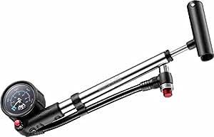 Beto Pompe pneumatique manuelle à vélo pour fourche et amortisseur avec manomètre et valve de purge