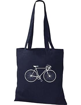 Stoffbeutel Fahrrad bike Rad Bonanza BMX Kult Baumwolltasche, Beutel viele Farben