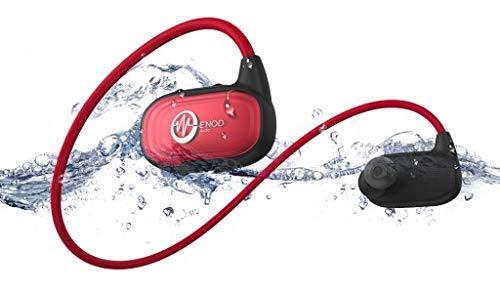 Enod Waveport Auricular natación Deporte Auricular A prueba de agua Auricular deportivo Bluetooth 8GB Memoria Reproductor de MP3 a prueba de agua
