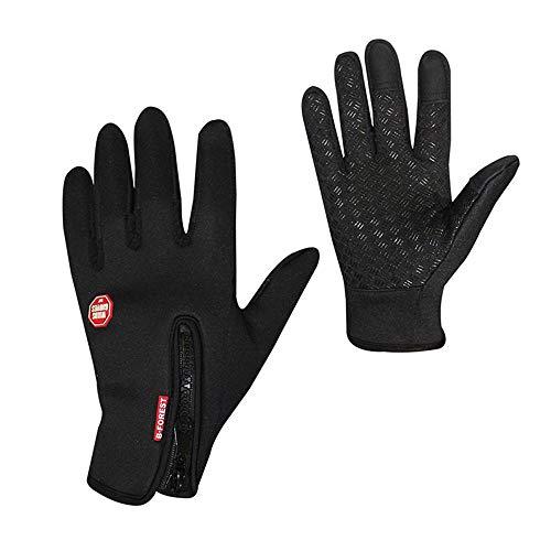 AOLVO Quad Handschuhe Winter Handschuhe Duenne Touchscreen Fleece Damen Herren REIT Winterhandschuhe Fleece Reithandschuhe Ski Golf Winterhandschuhe Wander MTB Motorrad