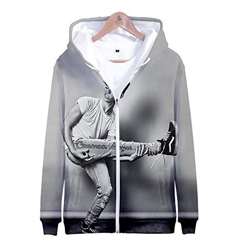 Cameron-damen T-shirt (dfjrdjyjrdj Cameron Boyce Digital Gedruckter 3D Zipper Hoodie + Kinderbekleidung E Style XXS)