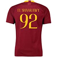 2018-2019 AS Roma Home Nike Football Soccer T-Shirt Camiseta (Stephan El Shaarawy 92) - Kids