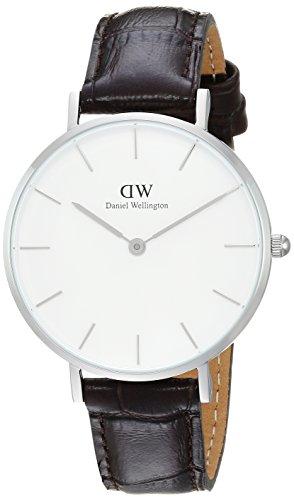 DANIEL WELLINGTON Reloj Analógico para Mujer de Cuarzo con Correa en Cuero DW00100188