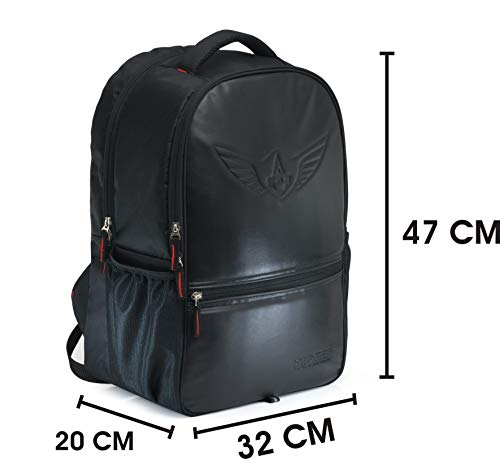 AUXTER Blacky 30 LTR School Bag Casual Backpack with Laptop Compartment Image 4