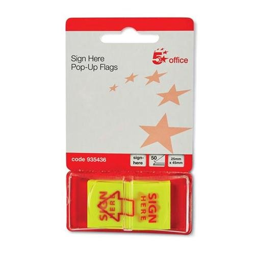5-star-sign-here-index-flags-tab-with-red-arrow-46x25mm-10-wallets-of-50-flags-500-flags-935436