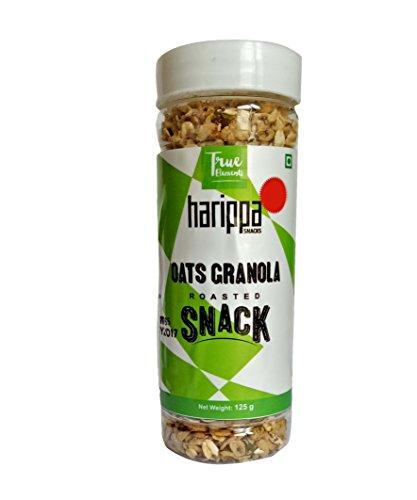 Harippa Oats Granola Roasted Snack 125gm By True Elements