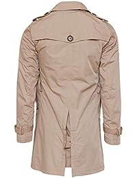 Amazon.it  trench uomo  Abbigliamento 4c0eb91aebf6