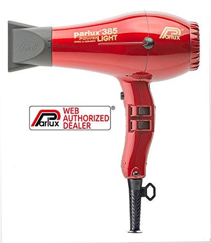 Parlux Power Light 385-Color Rojo