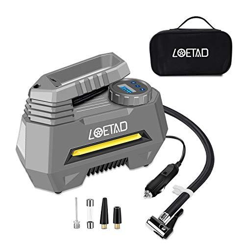 LOETAD Compresor Aire Inflador Eléctrico Portátil