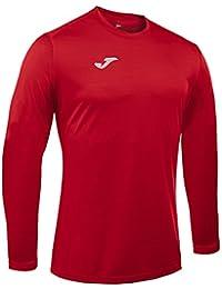 Joma Campus II Camiseta de Juego Manga Larga, Hombre, Rojo, XL