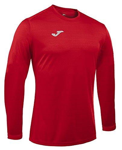 Joma Campus II Maglia sportiva a maniche lunghe, uomo rosso
