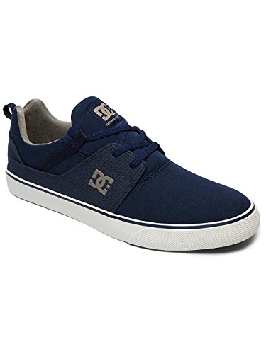 DC Shoes Heathrow Vulc TX, Baskets Homme Bleu - Navy