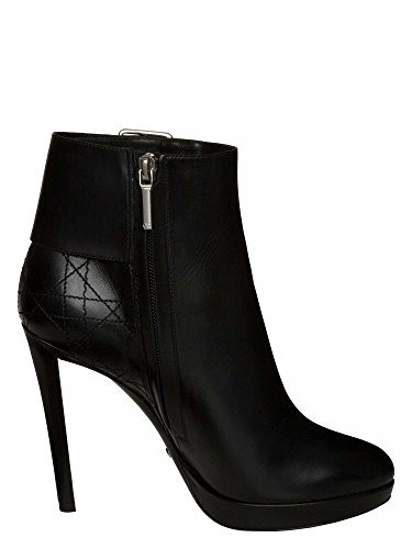 Dior Femmes Bottines cuir véritable Noir