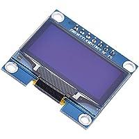 Módulo de Pantalla LCD de 4 Pines para 51 Series MSP430 STM32, I2C IIC SPI Serial 128X64 SSH1106 OLED, DE 1,3 Pulgadas, Color Azul