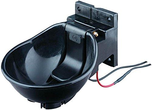 Lister Heizbares Tränkebecken SB 2 H mit Heizkabel 230 Volt / 33 Watt (Frostschutz bis ca. -20°C) - mit Druckzunge 230 Volt - Tränke Kuh Kühe Rinder Pferd Pferde Stall