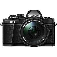 """Olympus E-M10 Mark-II - Cámara Evil DE 16.1 MP (Pantalla 3"""", estabilizador óptico, Vídeo Full HD, WiFi), Color Negro - Kit con Objetivo M.Zuiko Digital 14-150 IIR Sellado"""