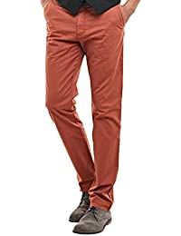 engbers Herren Chino in tollen Sommerfarben, 23669, Orange