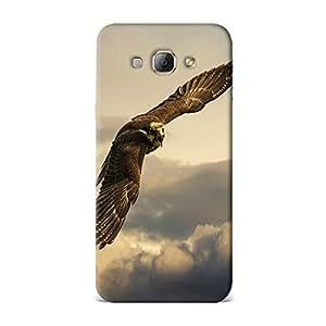 Qrioh Printed Designer Back Case Cover for Samsung A8 -24M-MP1546