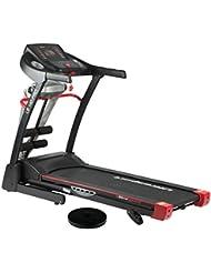 Ultrasport motorisiertes Laufband LB 140-Pro für zuhause, klappbarer Heimtrainer mit 3-fach verstellbarer Neigung, Geschwindigkeit von 0,8 bis 14 km/h, 1.000 Watt Leistung, belastbar bis 110 kg