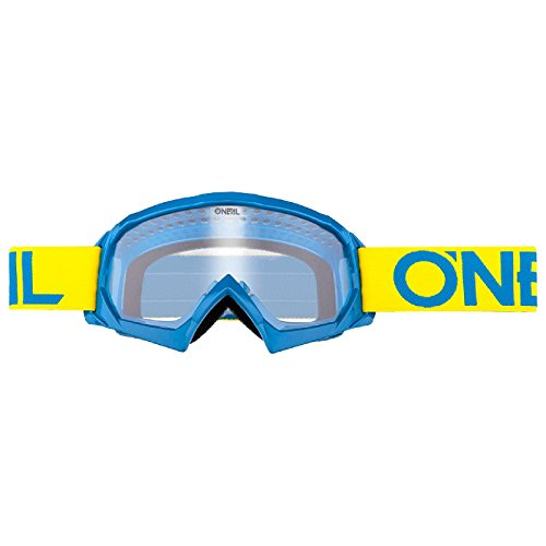 O\'Neal B-10 Kinder Solid Goggle Kinder Crossbrille Motocross DH Downhill MX Anti-Fog Glas Youth, 6024-11, Farbe gelb