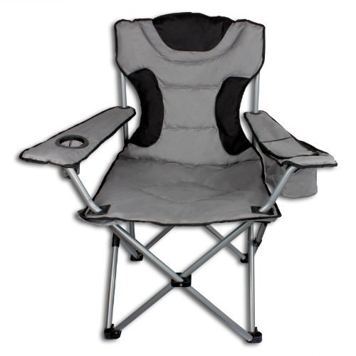Campingstuhl Klappstuhl Faltstuhl bis 120kg inkl Kühltasche verschiedene Farben