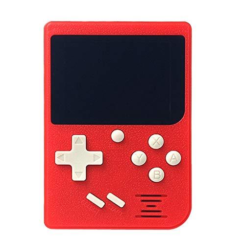 TAOtTAO Retro Mini 2 Handheld Console Emulator Eingebaute 129 Klassische Videospiele Geschenk Spielkonsole für Kinder (C)