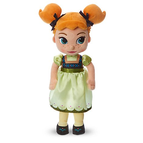 Disney Animators 'Collection Anna Plüsch Soft Doll - Tiefgekühlt - Klein - 13' '