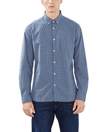 esprit-mit-vichy-karo-chemise-casual-homme-bleu-light-blue-lavender-medium