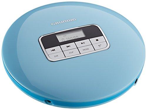 Grundig GCDP 8000 GDR1401 Tragbarer CD-Player Gentle Blau (Blau, Cd Player)