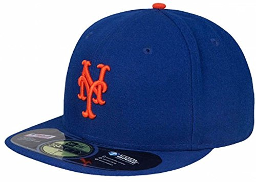 a44679954f6 New Era New York Mets Cap NY Royal 5950 Basic Fitted Team Basecap 6 7 8-8