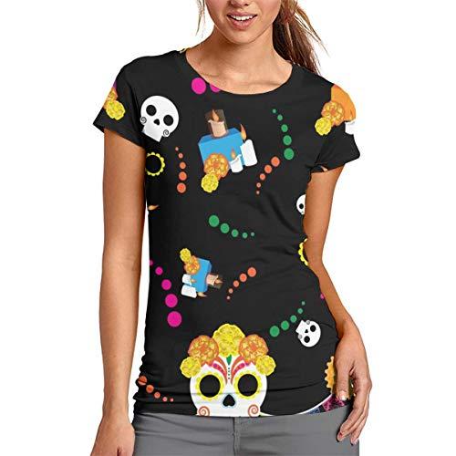 Women's Fashion Alter'd Pi帽ata Short Sleeve T Shirt M -