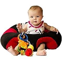 Silla del bebé Amlaiworld Portátil Inflable Lindo Sofá de Bebé Silla de comedor de seguridad para bebés Silla de Baño B