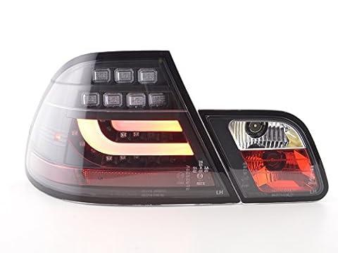 at72883–Feux arrière LED BMW SÉRIE 3E46Coupe Bj. 99–02noir