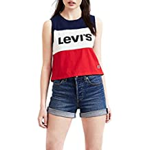 Camiseta Levis Colorblock Crop