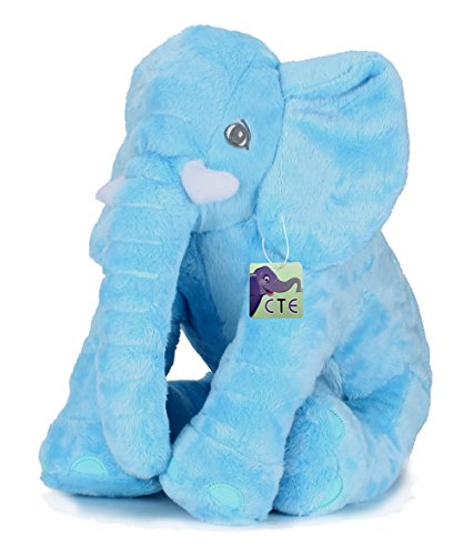 Preisvergleich Produktbild CTE® Plüsch Niedlich Baby-Elefant Verschmust Elefant Spielzeug Super weiches Baby-Spielzeug Geschenke für Kinder Spielzeug für Mädchen