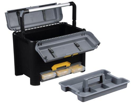 Allit Profi-Werkzeugkoffer, 1 Stück, schwarz, 476480