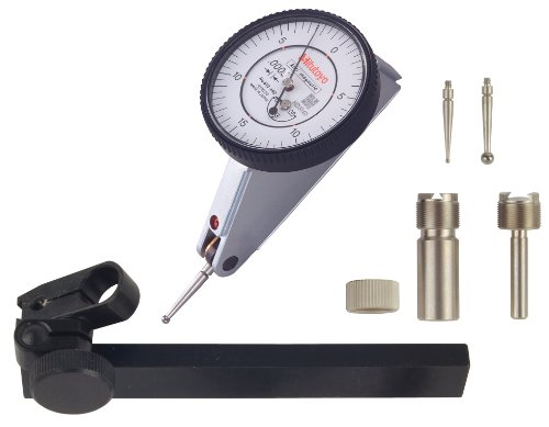 Mitutoyo 513-442T Neigbarer Hebelanzeiger komplettes Set, 2,2 cm Reichweite - Mitutoyo Dial Test Indicator