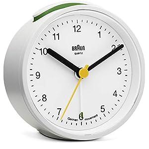 Braun BNC 012 Quarzalarm clock white