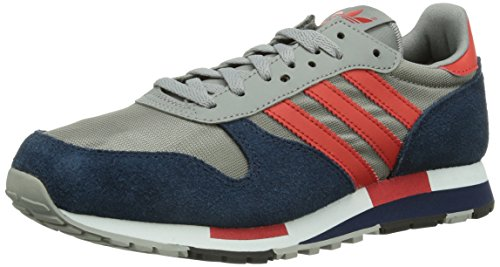 adidas - Centaur, Sneaker a collo basso Unisex – Adulto Grigio (Grau (Ch Solid Grey / Red-Sld / Collegiate Navy))
